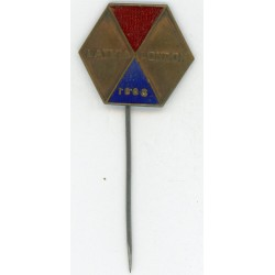 Latvian soviet stick pin Latvia London 1968