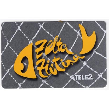 Latvian prepaid phone card TELE 2