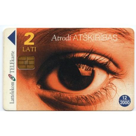 Latvian prepaid Lattelekom calling card TELE 2 Lati