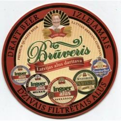 Latvian beer coaster