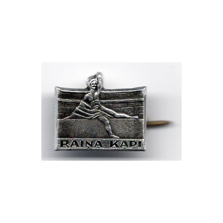"The Latvian soviet stick pin ""Raiņa kapi"""