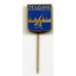 "The Latvian soviet stick pin ""Jelgava"""