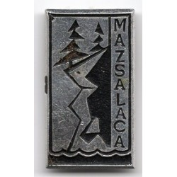 The Latvian soviet stick pin  Mazsalaca