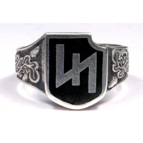 German WWII 2nd Panzer Division Silver Ring
