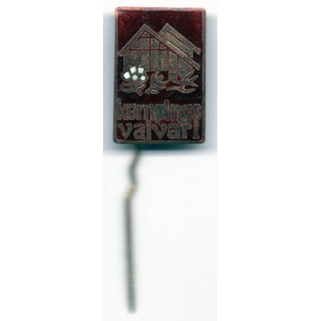 Latvian soviet stick pin Kempings Vaivari
