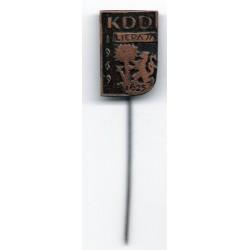 Latvian soviet stick pin KDD Liepāja 1625