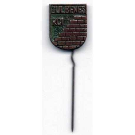 The Latvian soviet pin Gulbenes RCI