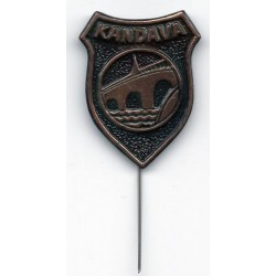 The Latvian soviet pin Kandava