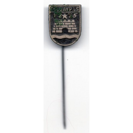 The Latvian soviet pin Daugavpils