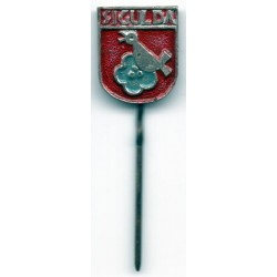 The Latvian soviet stick pin Sigulda