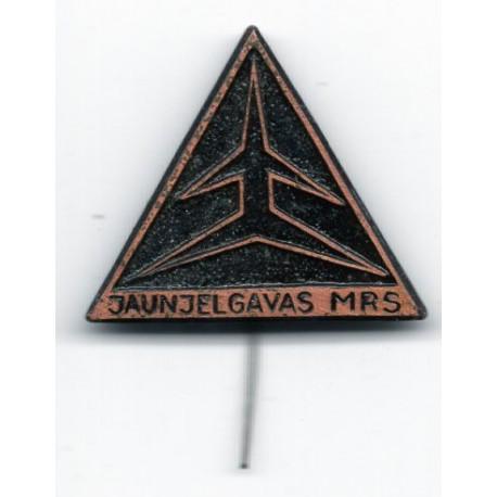 Latvian soviet stick pin Jaunjelgavas MRS