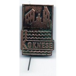 The Latvian soviet pin Koknese