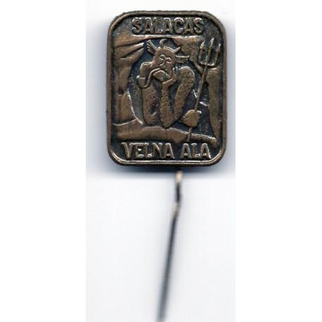 Latvian soviet stick pin Salacas Velna Ala