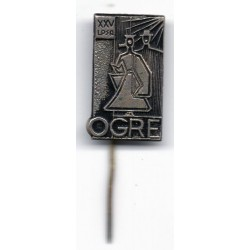 Latvian soviet stick pin Ogre