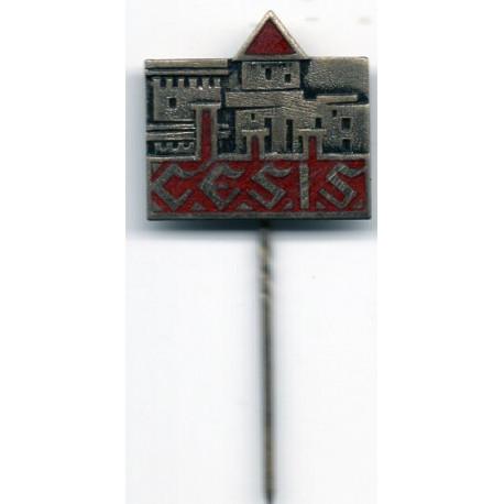 Latvian soviet stick pin Cēsis