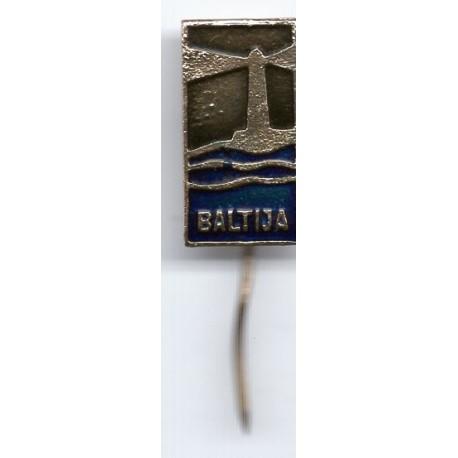 Latvian soviet stick pin Baltija