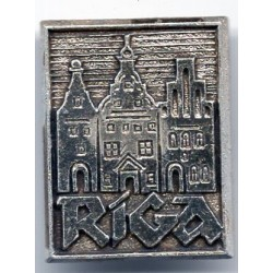 Latvian soviet stick pin Riga