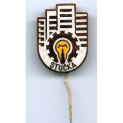 Latvian soviet stick pin Stucka