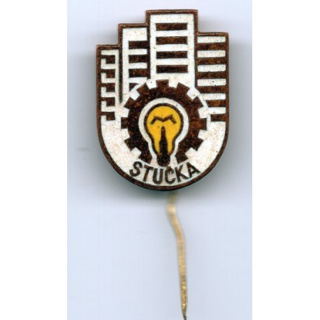 Latvian soviet stick pin Stucka