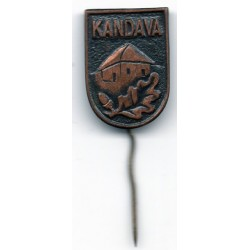 Latvian soviet stick pin Kandava