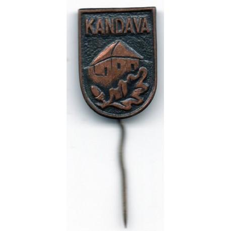 Latvian soviet stick pin Kandava
