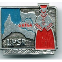 Latvian soviet stick pin LPSR