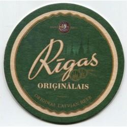 Latvian beer coaster Rīgas Orģinālais