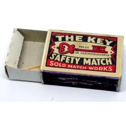 Czechoslovakian Matchbox