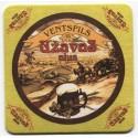Latvian beer coaster Užavas alus