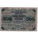 Latvia 100 Rubli from 1919  P 8 a