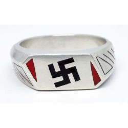 Silver Hitler Youth Ring