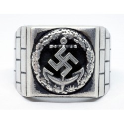 WW II German Kriegsmarine Honor Roll Clasp ring