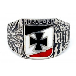 GERMAN NAZI WIKING NORDLAND SS RING