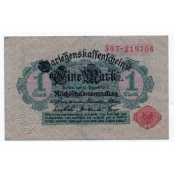 GERMANY  1 MARK from 1914 P-52
