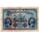 GERMANY  5 MARK from 1914 P-47b