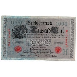 GERMANY  1000 MARK from 1910 P-44b