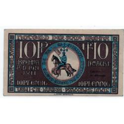 GERMANY  Notgeld Brehna 1921 10 Pfennig