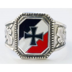 WW II GERMAN Volunteer  SILVER RING