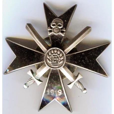 """""""Latgales""""partisan regiment breast badge"""