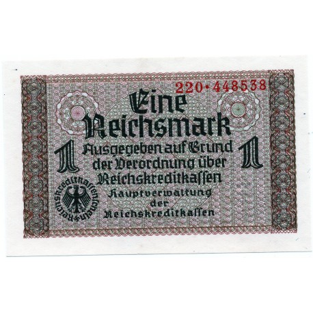 GERMANY  1 REICHSMARK  from 1940 P-R136