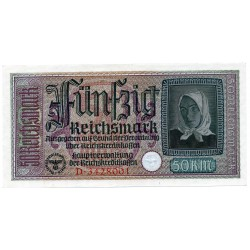 GERMANY  50 REICHSMARK  from 1940 P-R140