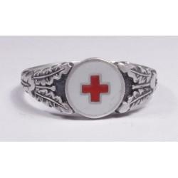 WW II GERMAN Medicine`s  SILVER RING
