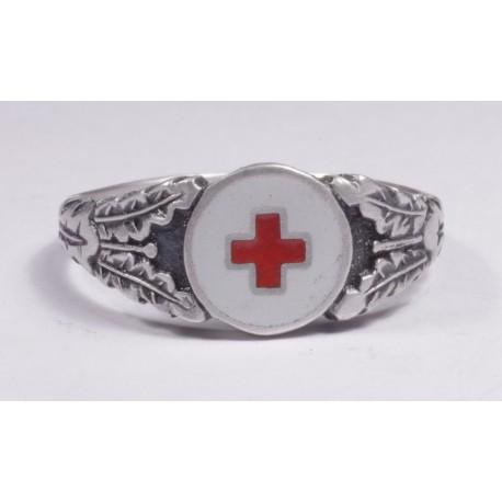 WW II GERMAN Medicine`s SILVER RING