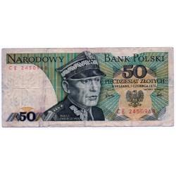 POLAND 50 ZLOTY  FROM 1979