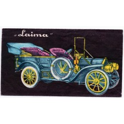 Latvian vintage  chocolate wrapper Laima