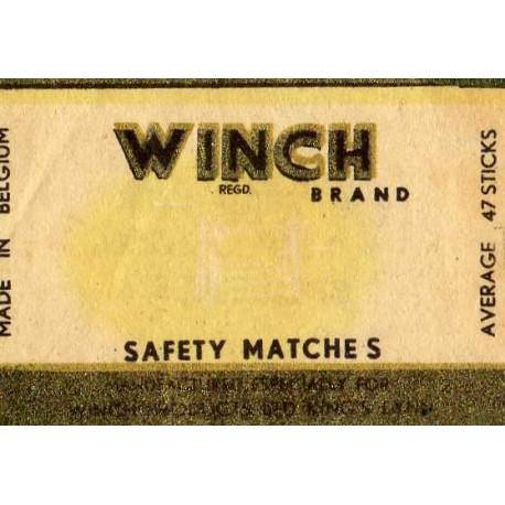 Belgian Matchbox Labels