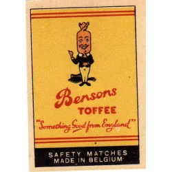Belgian Matchbox Labels