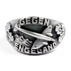 WW II German Ring of Battle of Britain with Airplan