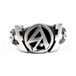 WW II BräunenHernd German Silver Ring