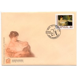 Latvian First Day Cover